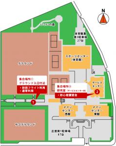 横浜市金沢産業振興センター全体図