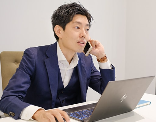 営業2部 代理店営業・グループ事業チーム 野々垣 圭祐