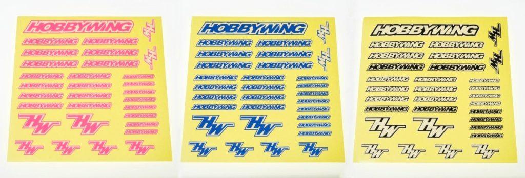 HOBBYWING ステッカーキャンペーン12ss